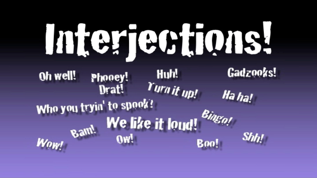 Elementary School Songs u0026 Videos About Interjections
